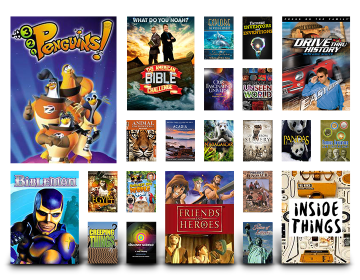 Pure Flix Homeschooling Educational Titles